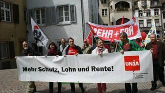 Maikundgebung 2012 in Rheinfelden