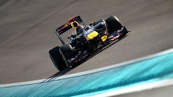 Sebastian Vettel auch in Abu Dhabi auf der Pole