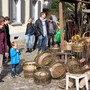 Ob der Korbflechter auch 2020 den Bremgarter Markt der Vielfalt beehrt, ist offen. Bild: Archiv (27.10.2019)
