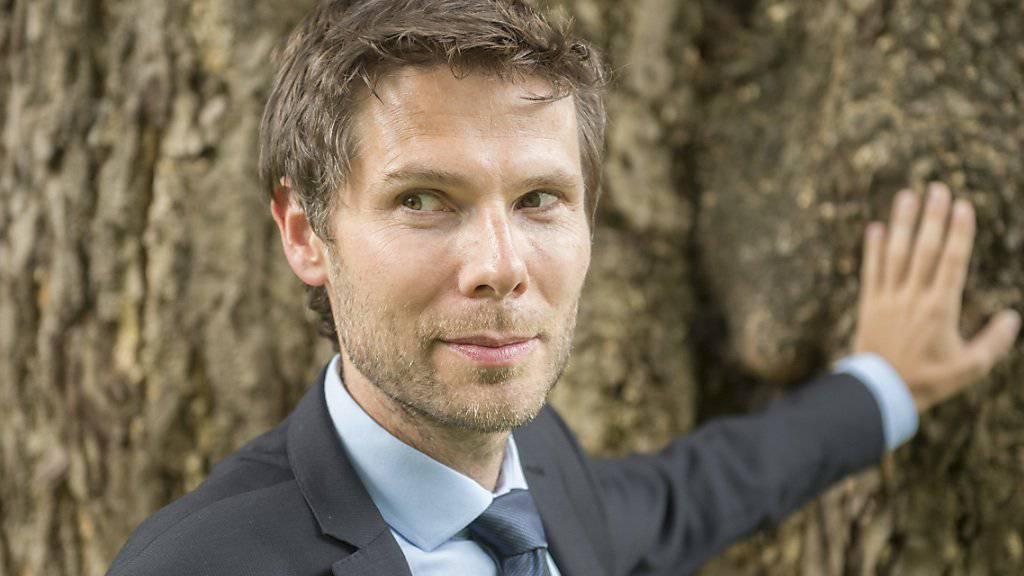 Regisseur Lionel Baier trägt Krawatten als Passepartout. (Archivbild)