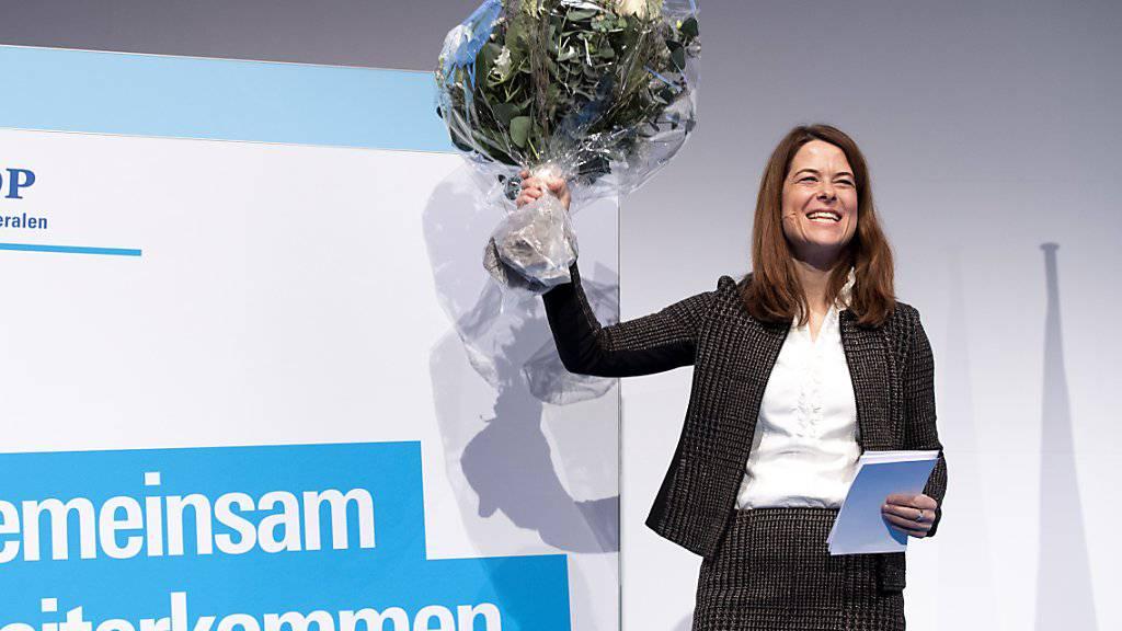 «Man kann die Politik anpassen»: FDP-Chefin Petra Gössi. (Archivbild)