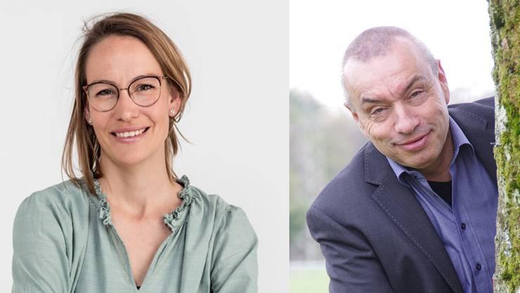 Parteilose Denise Berger (37) tritt gegen Patrick Braun (57) um die Wahl in den Gemeinderat von Staufen an.