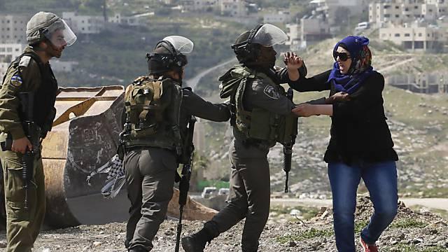 Proteste gegen neue jüdische Siedlungen