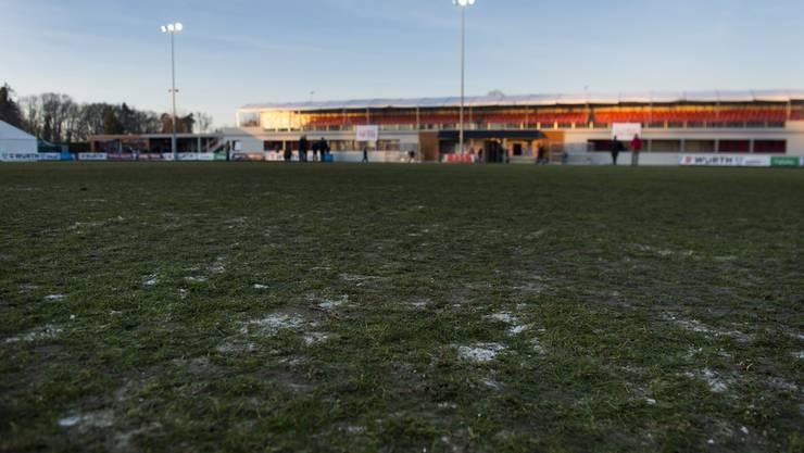 Weil das Terrain in Lausanne teilweise gefroren war, musste die Partie abgesagt werden.