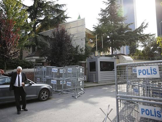 Khashoggi lebte im US-Exil und betrag das saudische Konsulat, um Papiere für seine Hochzeit mit einer Türkin abzuholen.