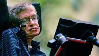 Der britische Astrophysiker Stephen Hawking (Archiv)