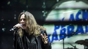 """""""Black Sabbath""""-Sänger Ozzy Osbourne bei einem Konzert in Budapest im Juni 2016: Die Band gab ihr Abschiedskonzert in Birmingham. (Archivbild)"""