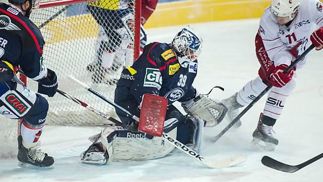 Lausannes Caryl Neuenschwander scheitert an Ambri-Goalie Zurkirchen