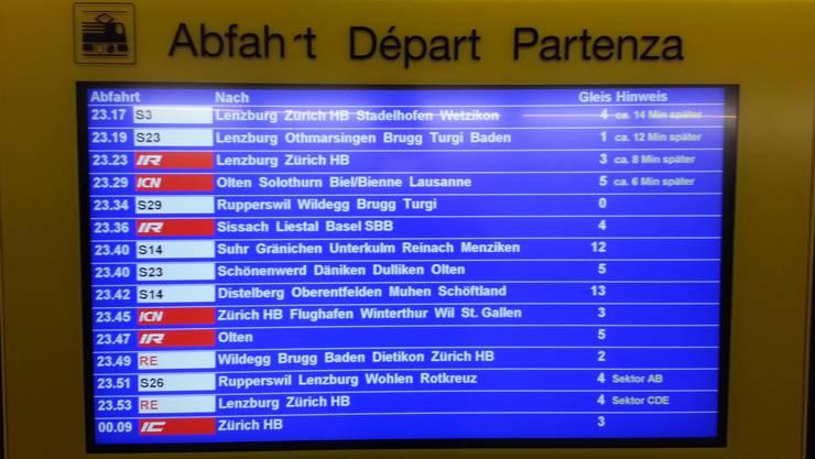 Bei technischen Störungen kann es zu Verspätungen und Zugausfällen kommen. (Symbolbild)
