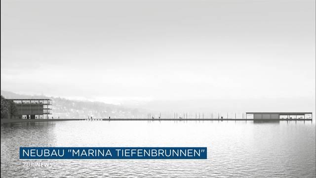 150-Meter-Steg mit Platz für 550 Boote in Zürich geplant