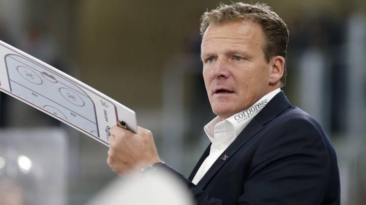 Kloten Cheftrainer Kevin Schläpfer.