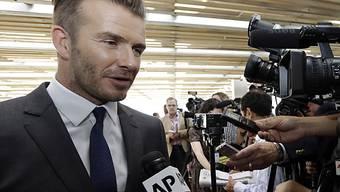 David Beckham will ein Fussballteam nach Florida bringen