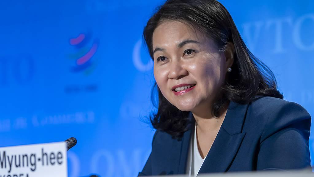 Die USA setzen sich für die Südkoreanerin Yoo Myung-hee als neue WTO-Chefin ein. (Archivbild)