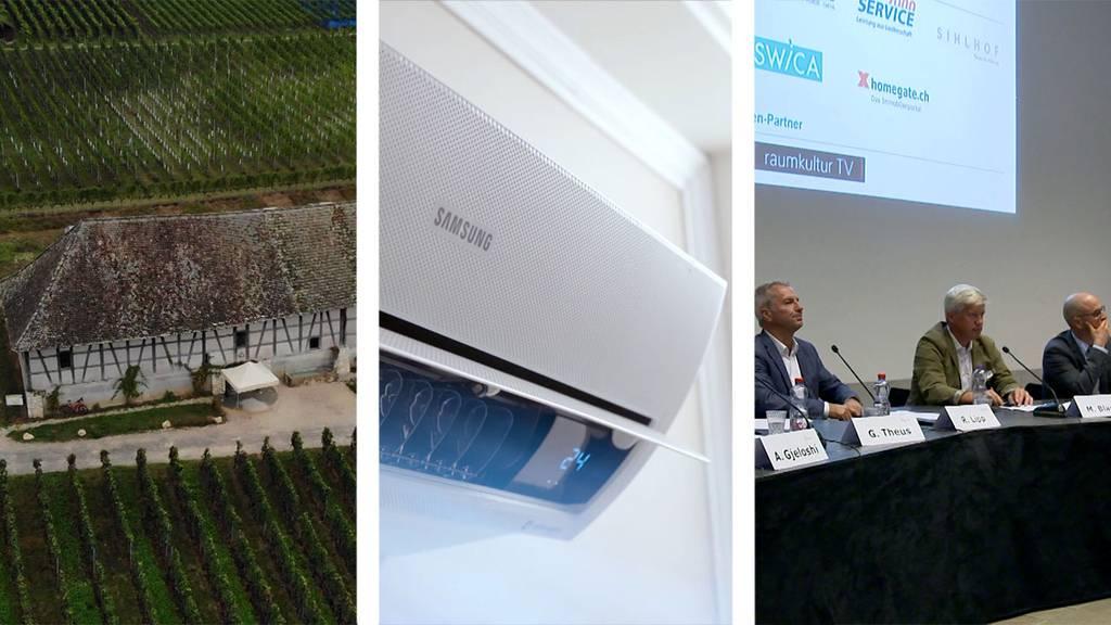 Bergtrotte Osterfingen / Klimageräte / Investition in Eigentumswohnungen