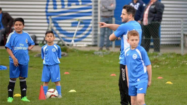 Enzo Zoccali nimmt den Neustart mit den Ital Juniors in Angriff.