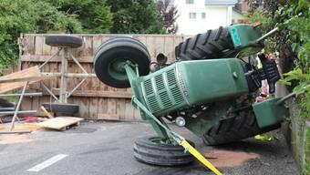 Kopie von Zweite Version: Schwerer Traktorunfall in Wohlen
