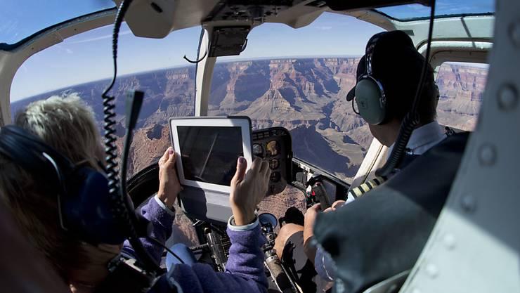 Beim Absturz eines Touristen-Helikopters beim Grand Canyon kamen drei Menschen ums Leben. (Symbolbild)