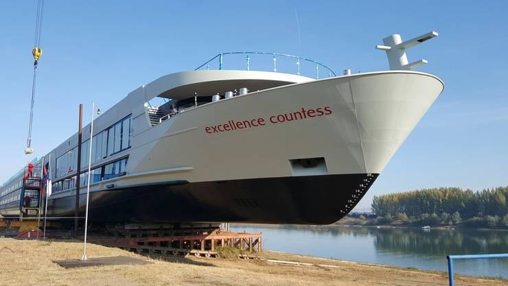 Die Aargauer Twerenbold Reisen Gruppe erweitert ihre Flotte mit einem neuen Luxusliner.