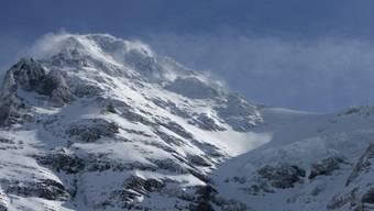 Die Westflanke des Eigers, wo der Alpinist in den Tod stürzte