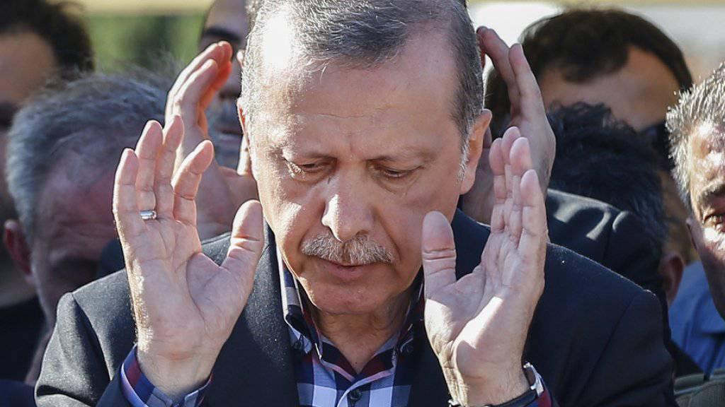 Das Vorgehen von Präsident Erdogan stösst in Brüssel zunehmend auf Kritik. (Archiv)