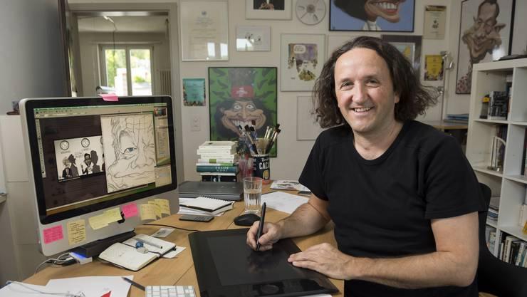 2018 war für Karikaturisten ein gutes Jahr, findet Silvan Wegmann. Das sind seine Lieblingskarikaturen.