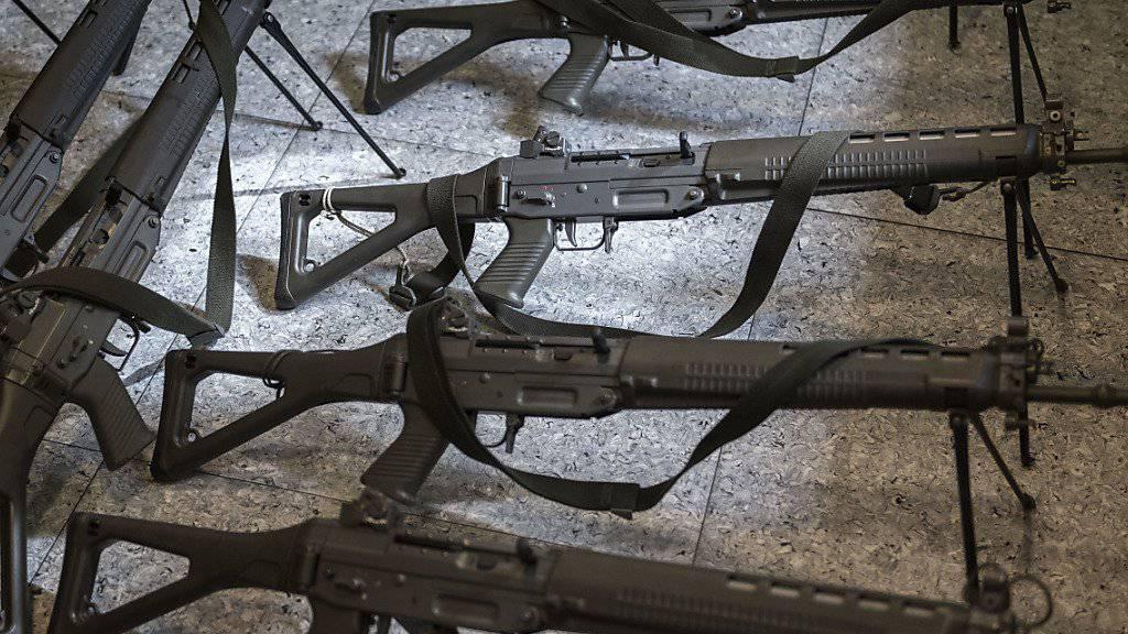 107 Armeewaffen im 2018 verloren gegangen