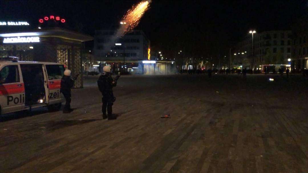Stadt Zürich: Mehrere Angriffe auf Polizisten
