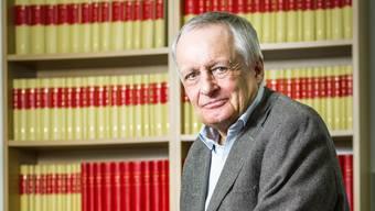 Franz Hollinger will verhindern, dass sein Mandant zu lange in Haft sitzt.