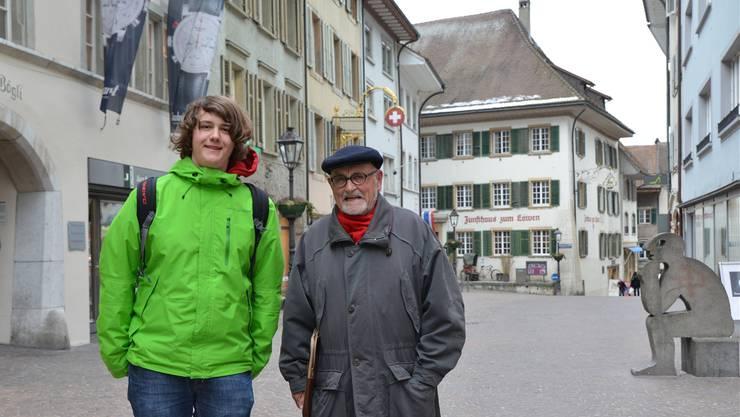 Simon Amoser und Hans Rudolf Lutz kandidieren beide für den Kantonsrat