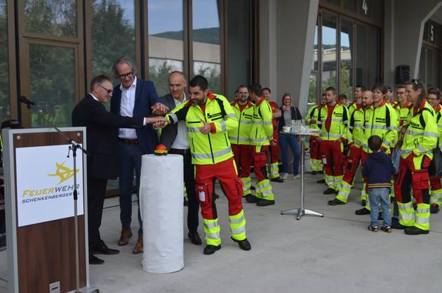 Feuerwehrmagazin Schenkenbergertal eingeweiht