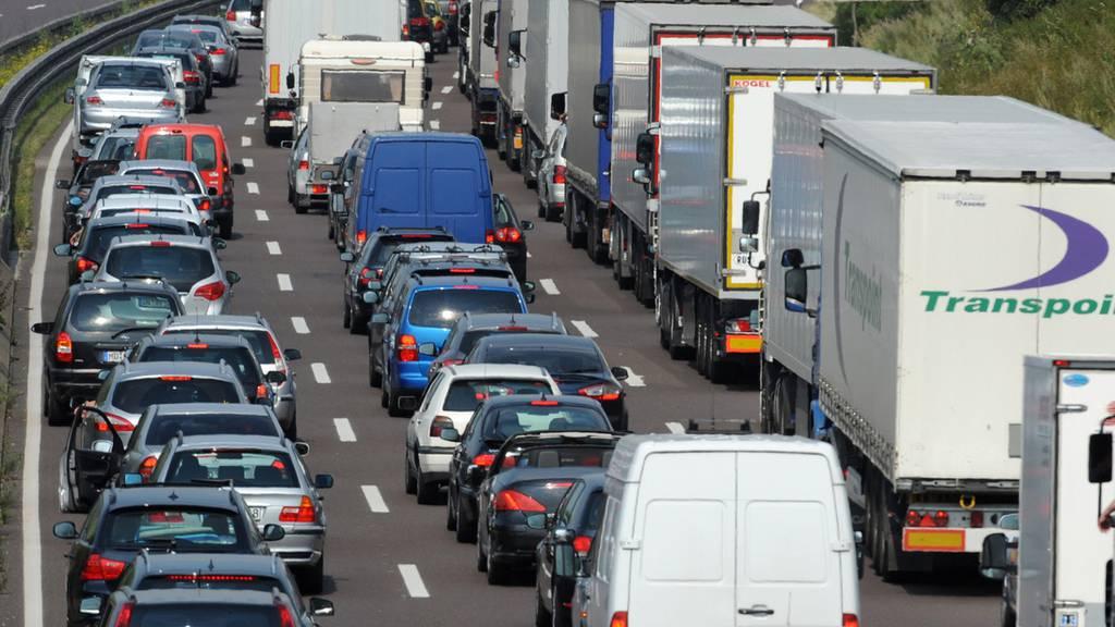Bis zu 250 Lastwagen pro Tag