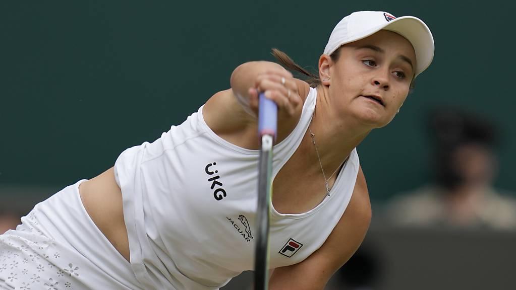 Am Ende die beste Spielerin in Wimbledon: Ashleigh Barty