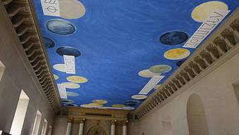Künstler Twombly macht sich im Louvres unsterblich