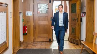Andreas Schmid zieht ins Ratshaus ein