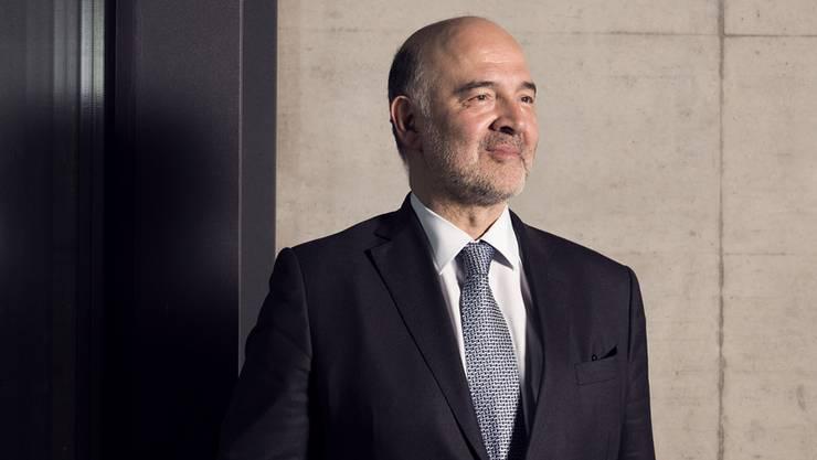 Pierre Moscovici, EU-Kommissar für Wirtschaft und Währung: «Nein, ich habe keinen Hass auf die Schweiz.»