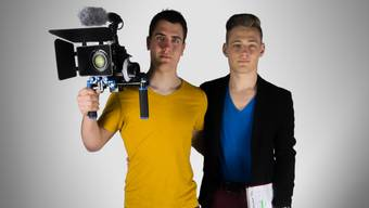 Sven (links) und Yannik Uhlmann betätigen sich in ihrer Freizeit unter dem Namen «Adelfy Pictures» als Filmemacher.