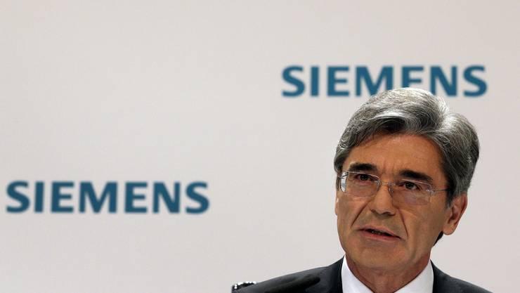 Siemens CEO Joe Kaeser. (Archiv)