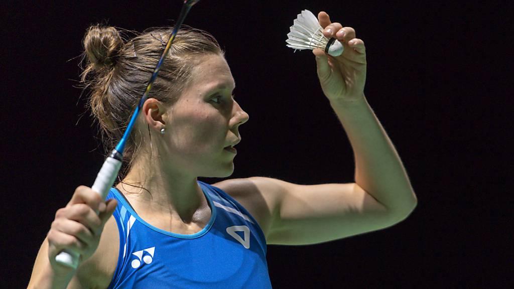 Sabrina Jaquet vor ihrem letzten Swiss Open