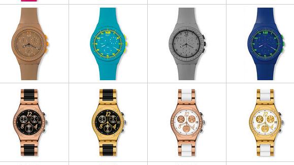 Schweizer Uhren sind Verkaufsschlager