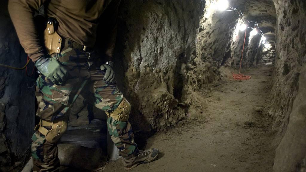 1,3 Kilometer langer Schmugglertunnel mit Lift entdeckt
