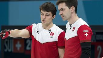 Die Benoît Schwarz (links) und Peter De Cruz haben auch an den Schweizer Meisterschaften alles im Griff