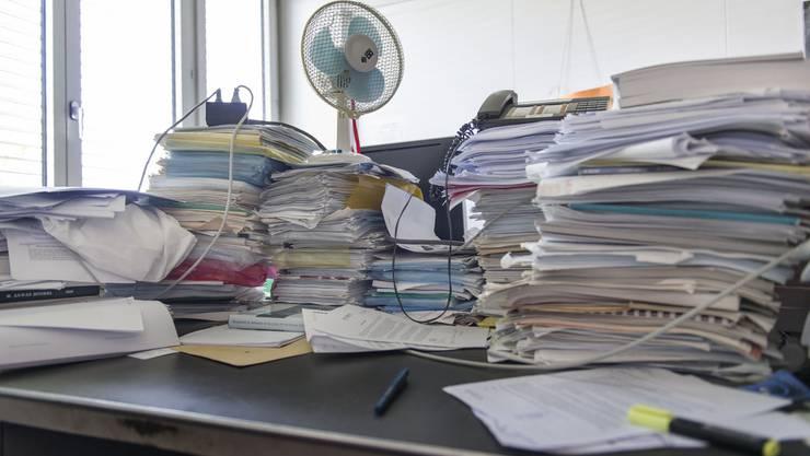 Stress Aufschieben Prokrastination (Symbolbild)