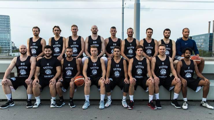 Es gibt auch ein Standard-Teamfoto der ersten Mannschaft des BC Bären Kleinbasel.