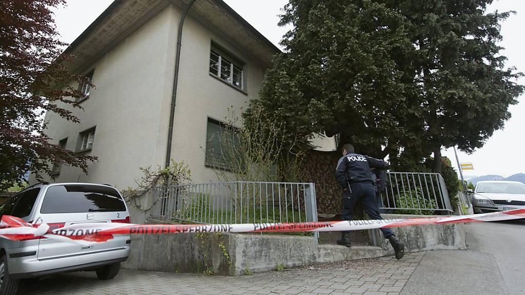 In diesem Haus wurde 2013 der Heimleiter und dessen Freundin ermordet. (Archivbild)