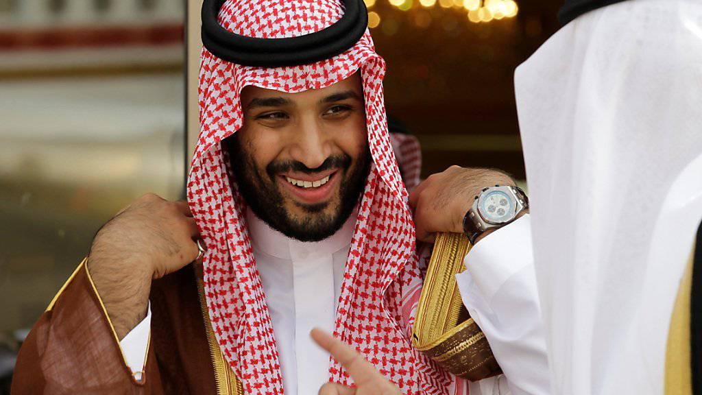 Der saudische Kronprinz Mohammed bin Salman hat laut offiziellen Angaben aus Saudi-Arabien den Hinterbliebenen von Jamal Khashoggi sein Beileid ausgedrückt. (Archivbild)