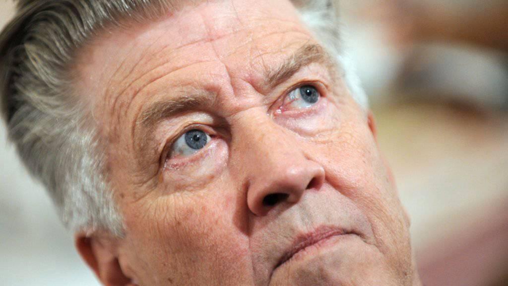"""David Lynch hat keine Zeit, heute seinen 70. Geburtstag zu feiern, er dreht Fortsetzungen zu """"Twin Peaks"""" (Archiv)."""