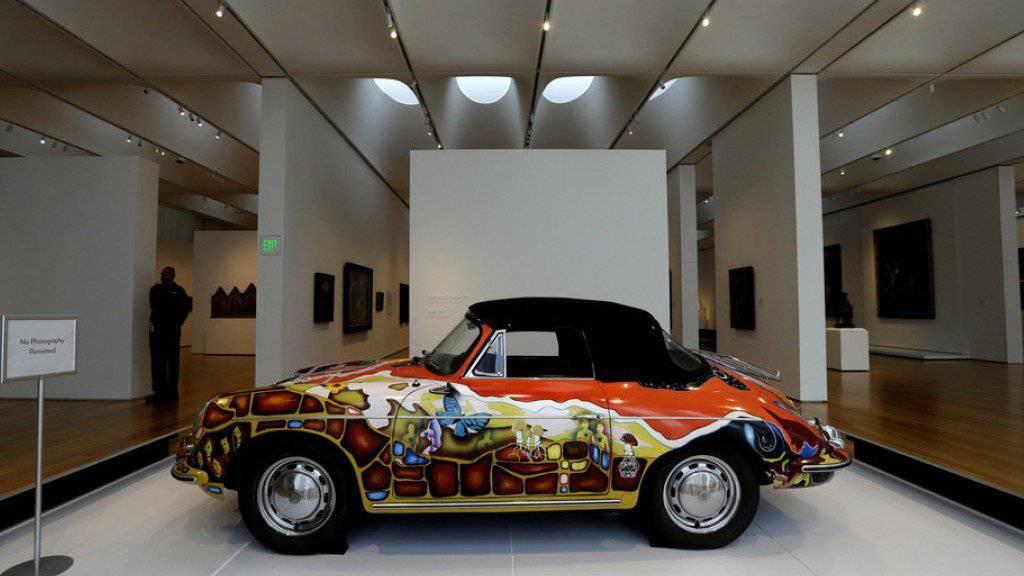 Der 1965er Porsche 356 C Cabriolet von Janis Joplin soll 400'000 Dollar bringen.