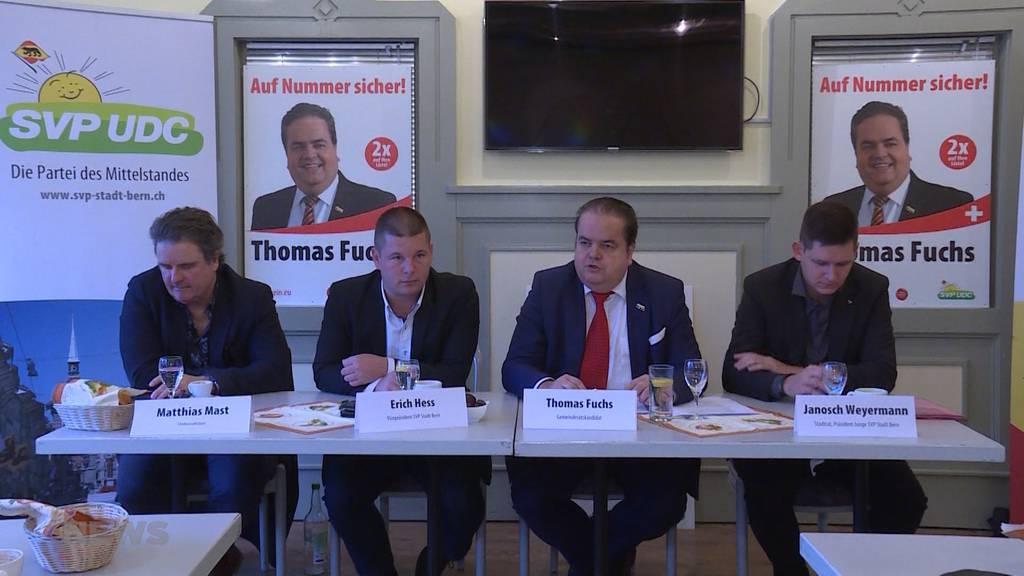 SVP-Kandidat Thomas Fuchs will in den Berner Gemeinderat