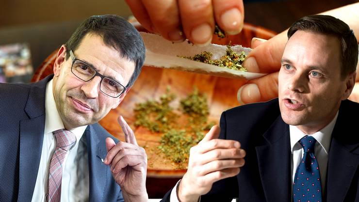 Matthias Jauslin und Jean-Pierre Gallati