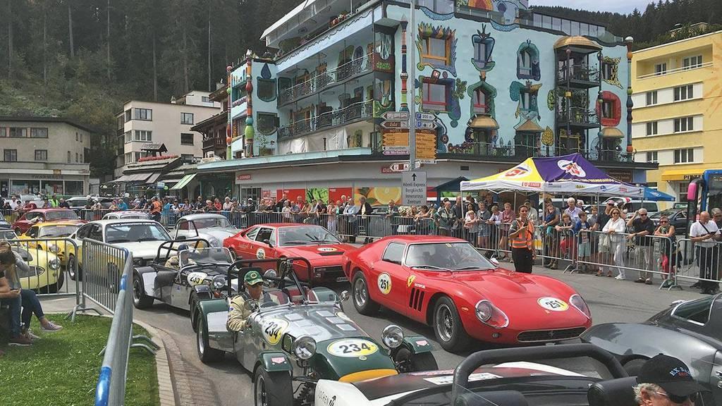 Das Oldtimer-Rennen findet zum vierzehnten Mal statt.